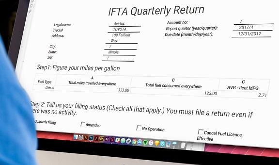 Free IFTA Tax Reporting Tool