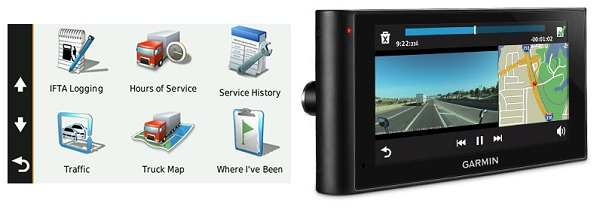 2 gadget Garmin fleet management