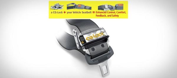 7 gadget CG-Lock CG001 Seatbelt Stabilizer