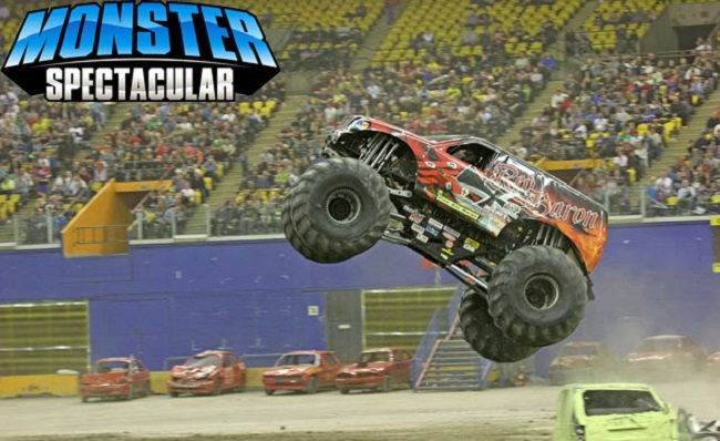 bigfoot truck toy with Top 10 Monster Truck Show Events on 1081135 pioneering Monster Truck Bigfoot Goes Electric Video further Watch likewise Top 10 Scariest Monster Trucks also Best Price And Bigfoot Arena Rocker Track Playset With Remote Controlled Monster Truck Reviews further Everybodys Scalin For The Weekend Bigfoot 4x4 Monster Truck Spooktacular.