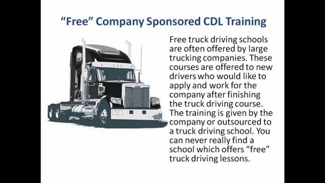 How To Get Company Sponsored CDL Training