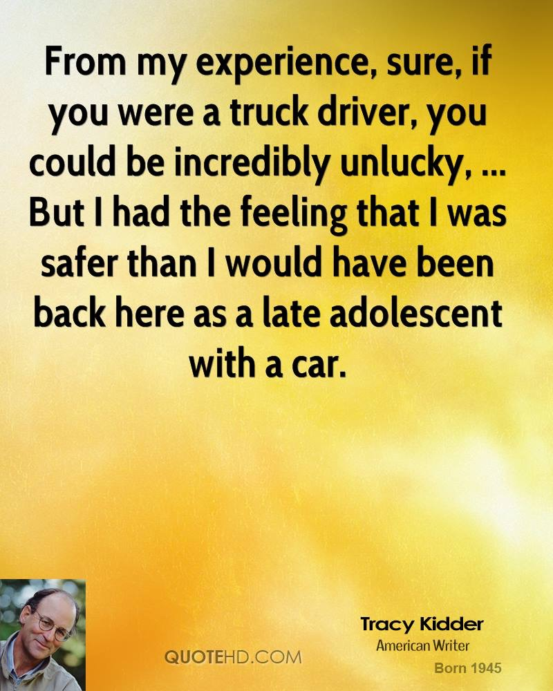 Trucking Quotes 100 Best Truck Driver Quotes  Fueloyal