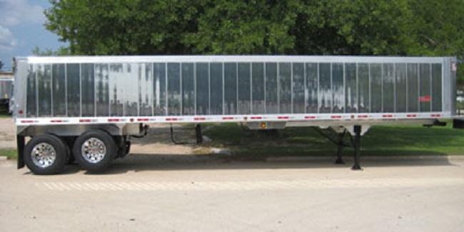 Used 53 foot dry van trailers for sale