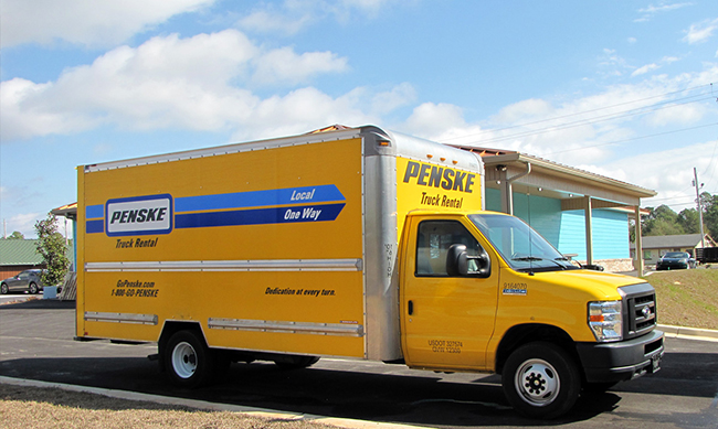** The truck specifications listed above are based upon Penske's most commonly rented fleet. They are not the exact measurements of all trucks rented by Penske. Specifications will vary by make, model and year of truck.