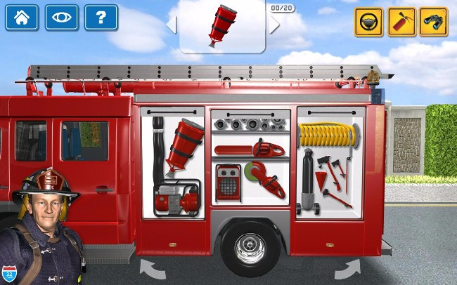 Top 10 Fire Truck Games