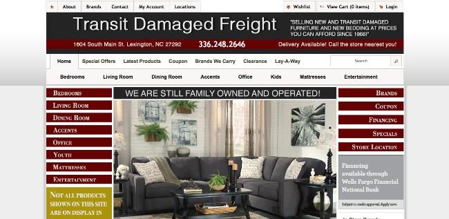 Unclaimed Freight Furniture U2013 Transit Damaged Freight U2013 Lexington, NC
