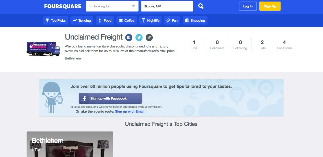 Top 25 Locations To Buy Unclaimed Freight Furniture