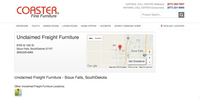 Unclaimed Freight Furniture U2013 Unclaimed Freight Clearance U2013 Sioux Falls,  South Dakota 57107u2026