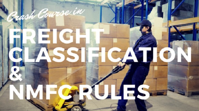 Motor freight classification guide National motor freight classification nmfc