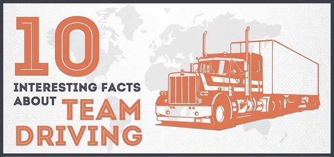 INFOGRAPHIC: 10 Interesting Facts About Team Driving