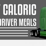 INFOGRAPHIC: 8 Most Caloric Truck Driver Meals