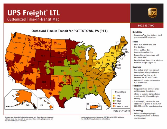Top 10 Trucking Companies In Virginia Fueloyal - Ups Service Map Of The Us