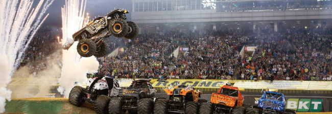2017 Top 20 Amazing Monster Truck Show Events In USA