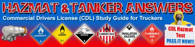 CDL Study Guide: Hazmat Endorsement