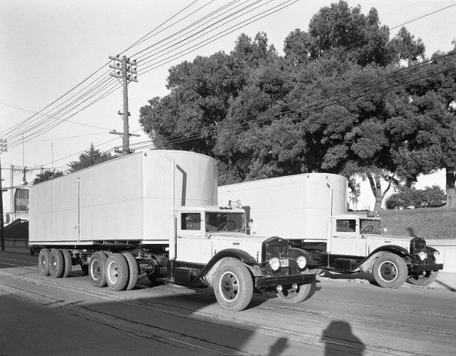 The Rise Of Semi Trailer Trucks History And Industry Impact