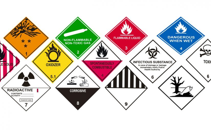 9 Classes of Dangerous Goods Transported By Trucks