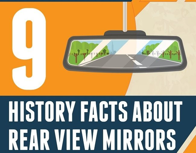 INFOGRAPHIC: 9 History Facts About Rear View Mirrors