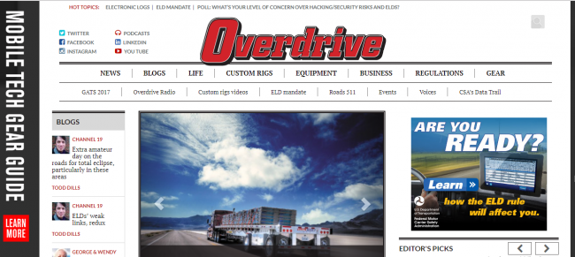10 Places To Find The Latest Trucking Industry News