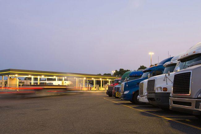 Big Truck Stop Comparison Test Pilot Vs Loves Vs Ta