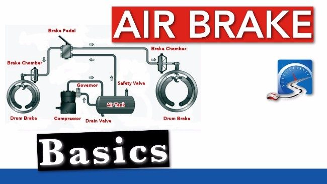 Construction And Working Of Air Brake System Used In Manual Guide