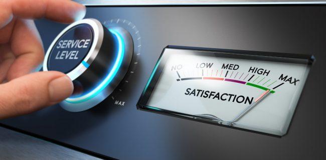 transportation sales satisfaction