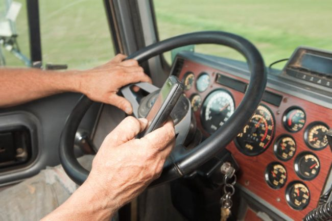 owner operators driving distraction