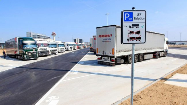 owner operators parking shortage