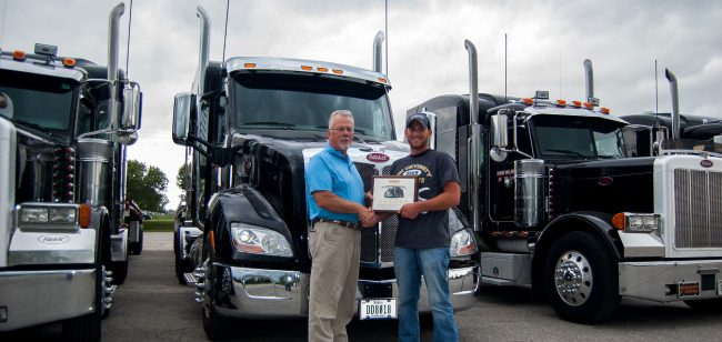 free cdl training contract