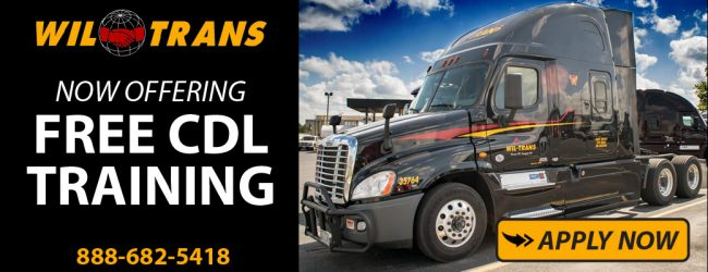 trucking companies that provide free cdl training