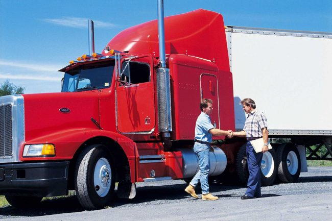 free cdl training signing contract