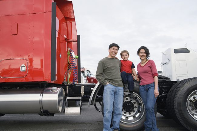 Truck Driver Stresses and family issues