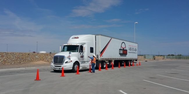 Truck Company Work Experience training process