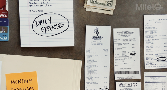 trucking expenses monthly and daily