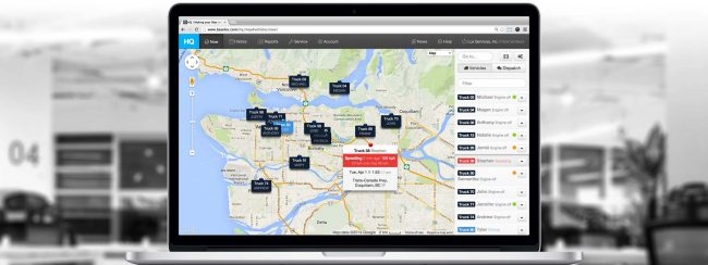 Fleet Delivery Tracking with alerts