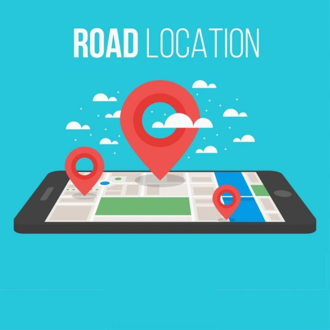 vehicle tracking improves road location