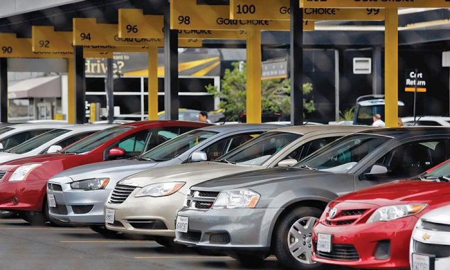 rent a car Las Vegas and rules to stick to