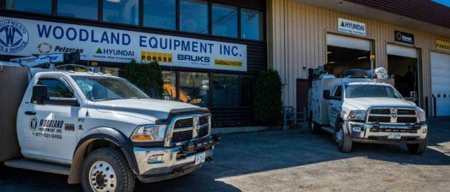 Hyundai construction equipment - Woodland Equipment