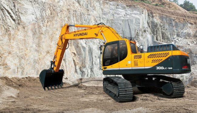 Porter Group has market available Hyundai Construction Equipment