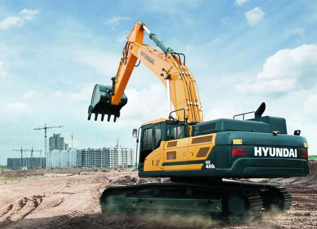 Tracey Load has quality Hyundai Construction Equipment