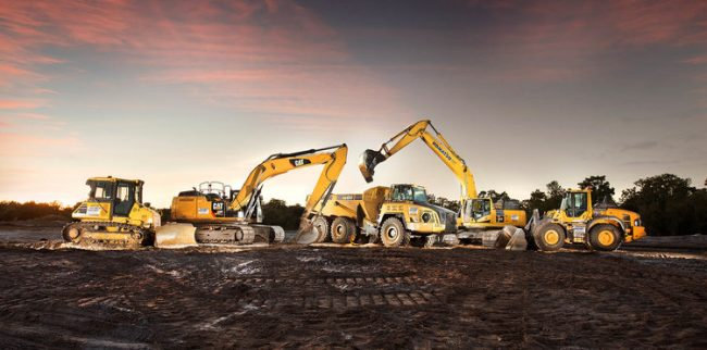 Tracey Load is one of the best locations to find Hyundai Construction Equipment