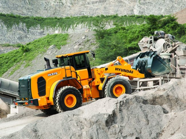 Hyundai construction equipment has a long-lasting quality