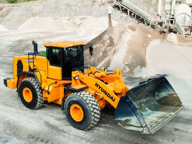 Hyundai construction equipment is a reliable and quality manufacturer