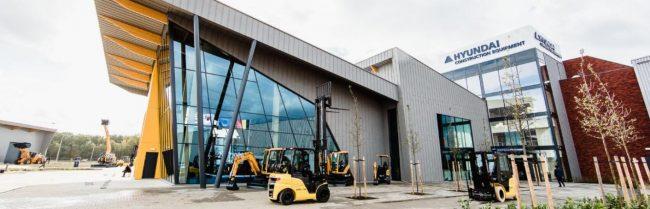 Construction equipment as a dealer of Hyundai construction equipment
