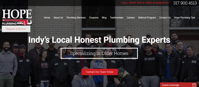 Hope Plumbing companies