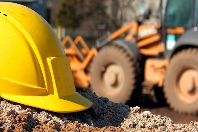 construction truck Engine