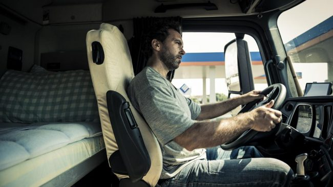 truck driving questions: What is the average salary of truck drivers?