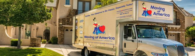 residential moving companies - Moving of America