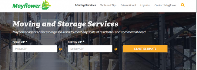 residential moving companies - Mayflower