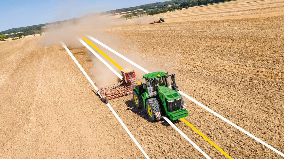 GPS In Agriculture: One Step Closer To Sustainability Cover Image