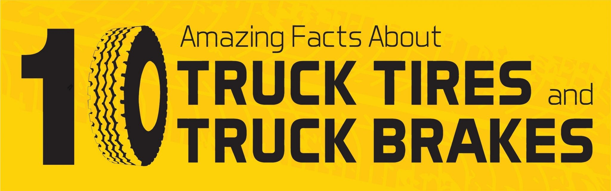 INFOGRAPHIC: 10 Little Known Facts About Semi Truck Tires and Car Tires